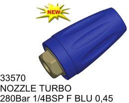 Μπεκ υψηλής πίεσης 1/4BSP 280Bar Φ 0.45mm made in italy